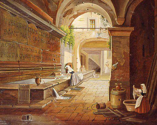 Acquedotto Vergine: visite guidate Roma: 23/03/2013