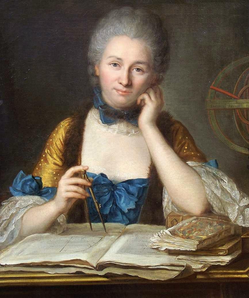 Gabrielle Émilie Le Tonnelier de Breteuil ou Madame du Châtelet (1706 - 1749)