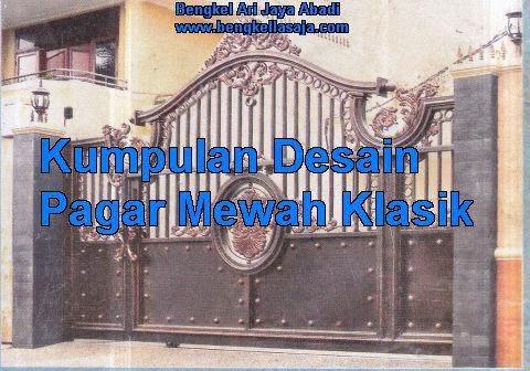 jasa pembuatan pagar rumah klasik