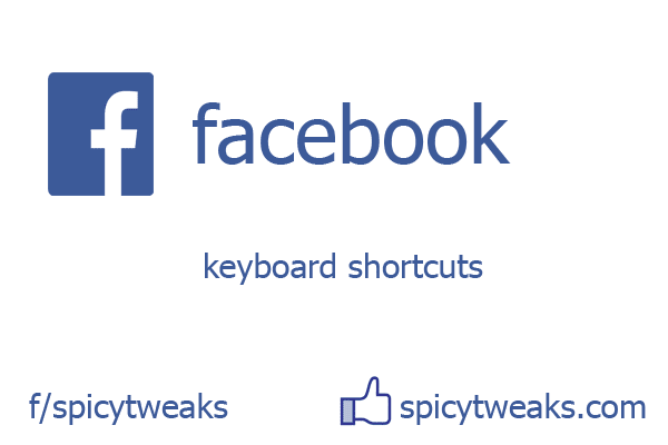 Ultimate List of Facebook Shortcut Keys