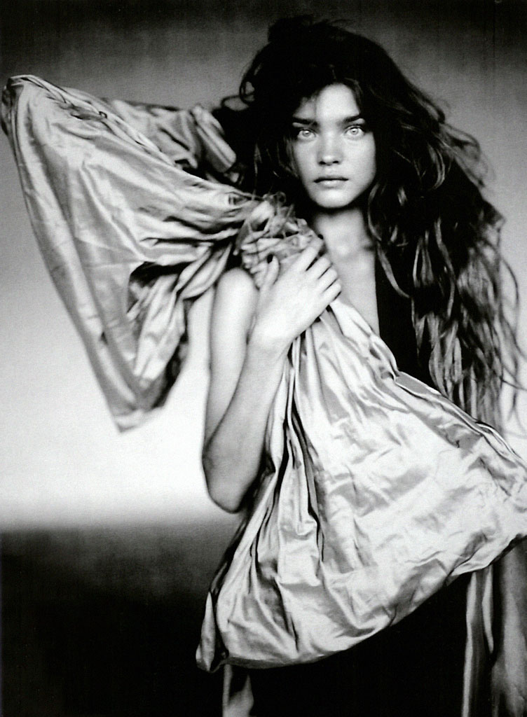 Natalia Vodianova in The girl of singular beauty | Vogue Italia September 2004 (photography: Paolo Roversi)