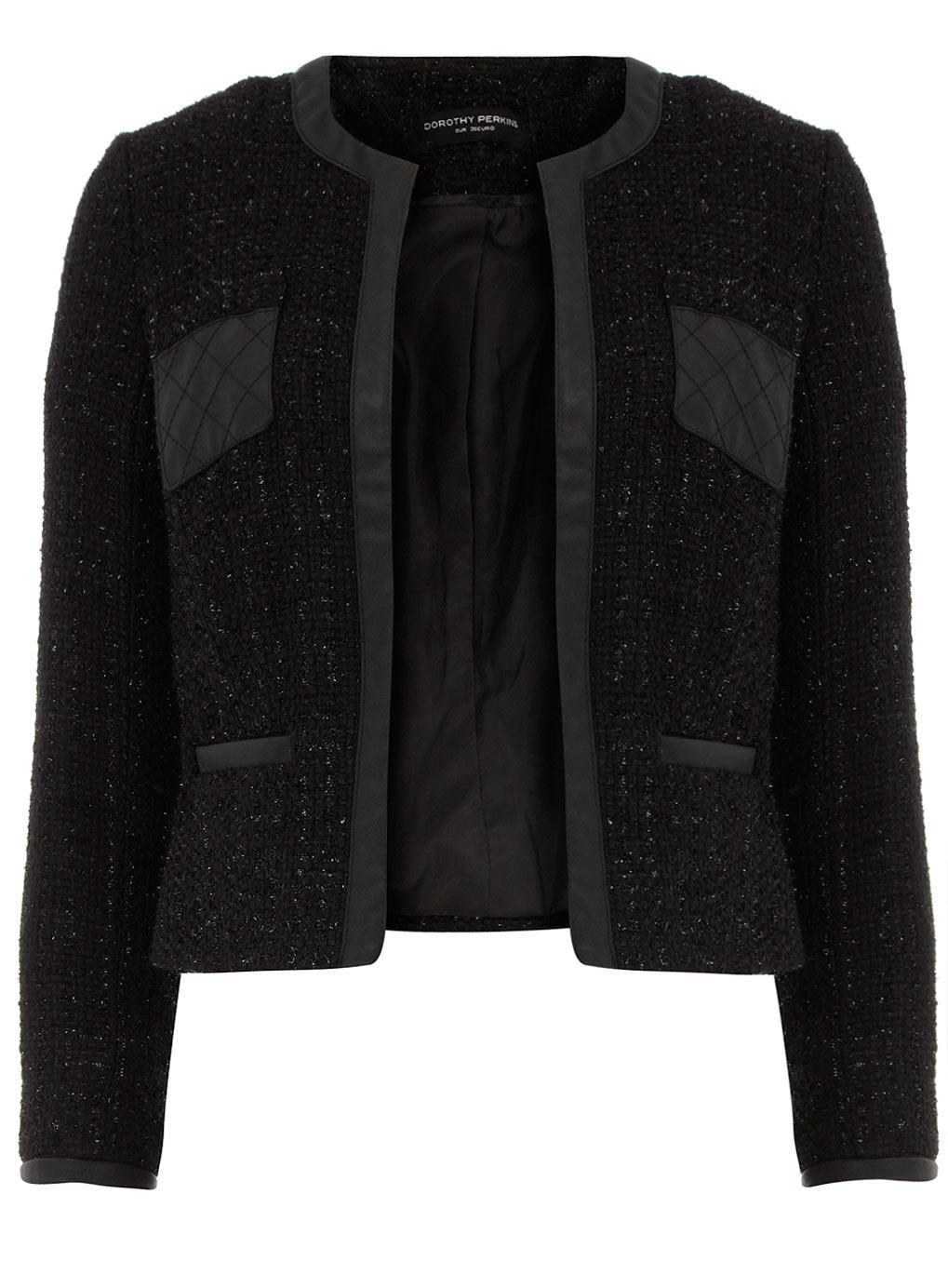 Black Boucle Jacket