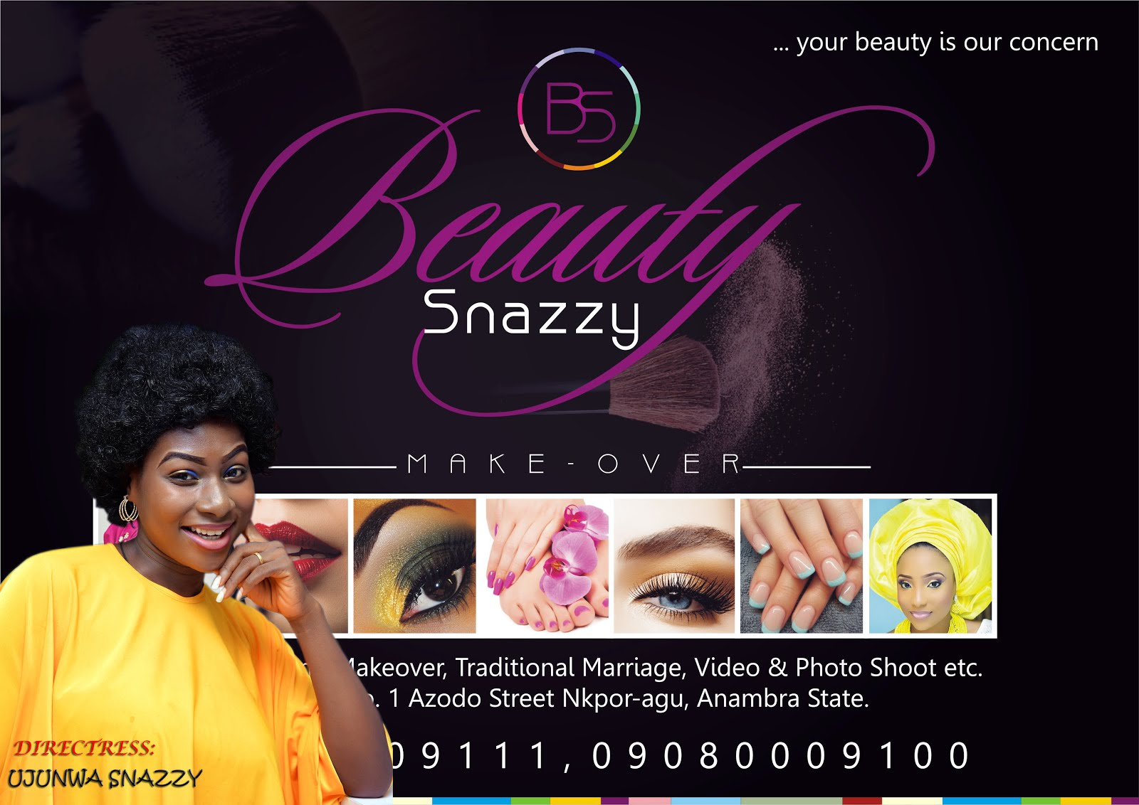 BEAUTY SNAZZY MAKEOVER