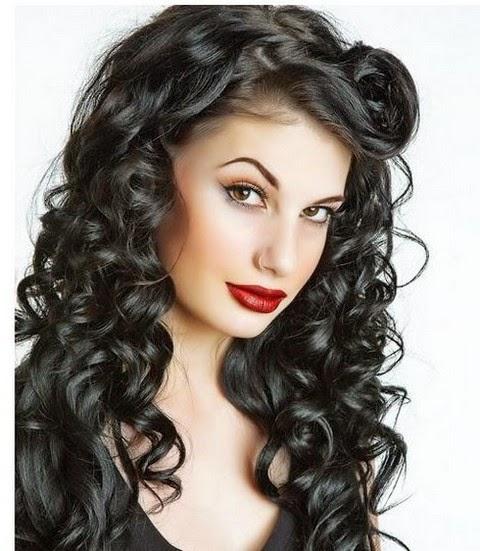 Cabello Ondulado Para Cara Redonda Peinados De Moda