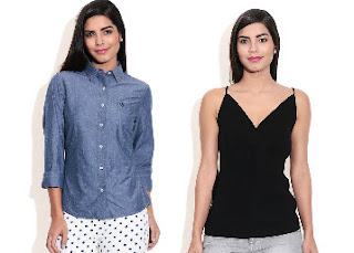 American Swan Women's Tops get  Flat 80% OFF at starting Price Rs 160 Via snapdeal:buytoearn
