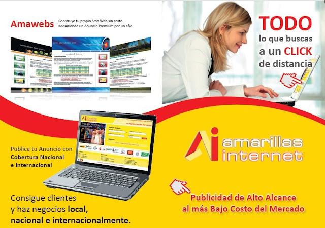 Amarillas Internet - Publicidad on Line los 365 del año!