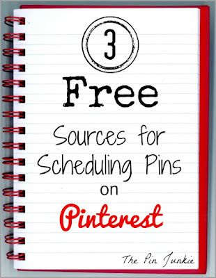 3 free sources for scheduling pins on Pinterest