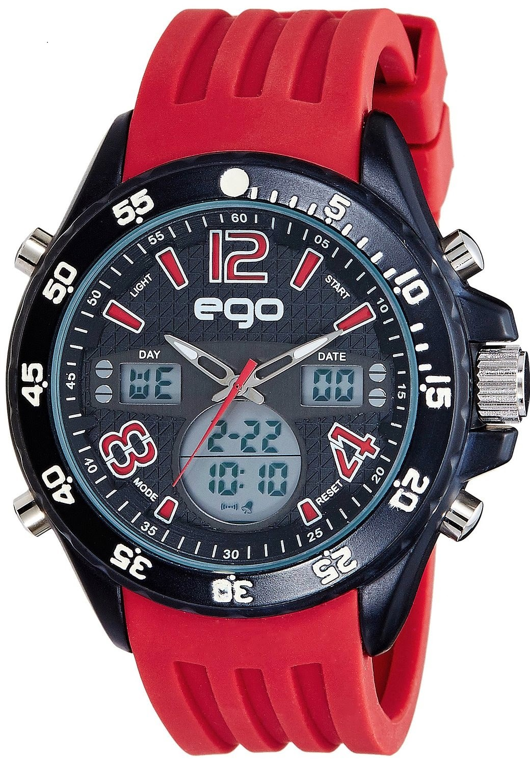 Maxima Ego Analog-Digital Multi-Color Dial Unisex Watch from Amazon