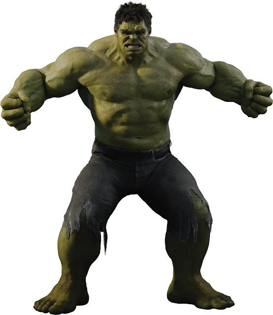 Hulk desenho Os Vingadores Colorido