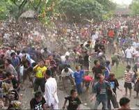 tradisi perang topat di lombok