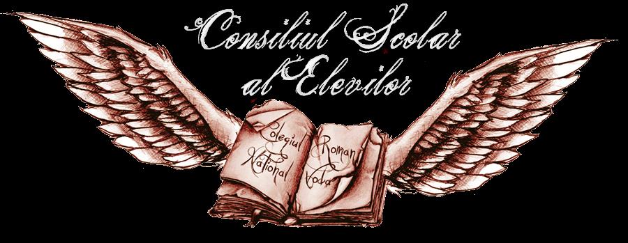 """Consiliul Şcolar al Elevilor         Colegiul Naţional """"Roman-Vodă"""""""