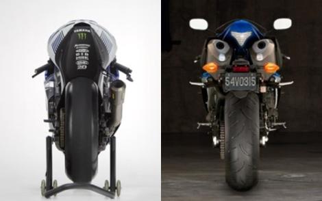 Sport bike gen MotoGP yang ada di pasar dunia