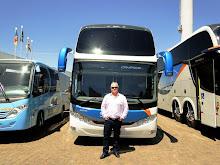 Comil Ônibus recebe a visita de Laury Ernesto Koch