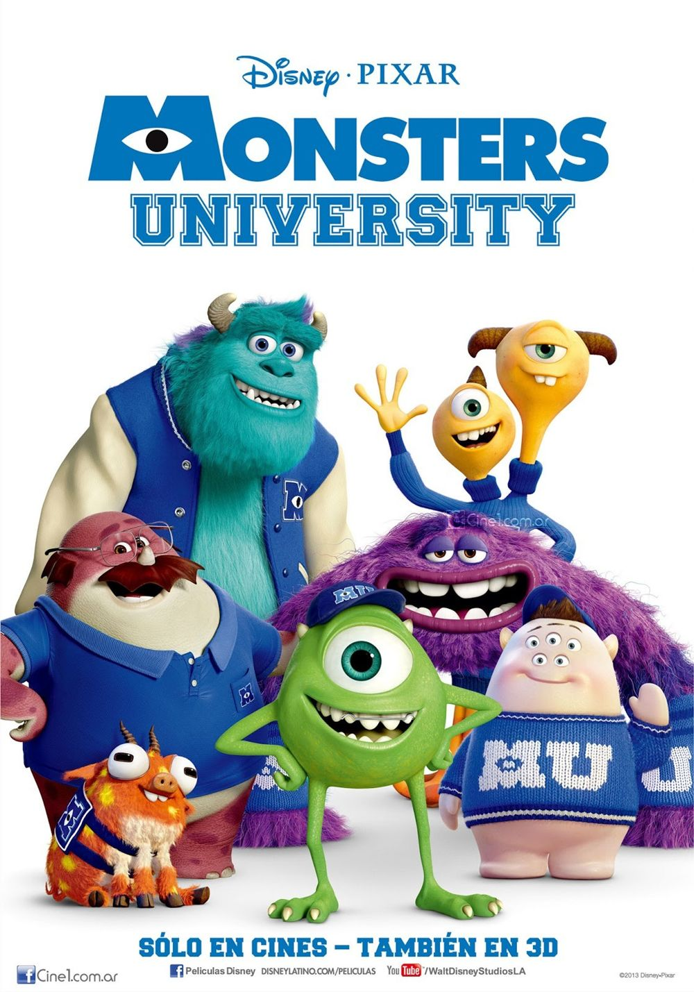 animacion, descargar Monsters University, Monsters University audio latino, Monsters University online, Monstruos University, ver Monsters University en español online, ver Monstruos University