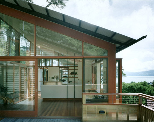 House of herbastyle large glass windows in modern Modern houses with big windows