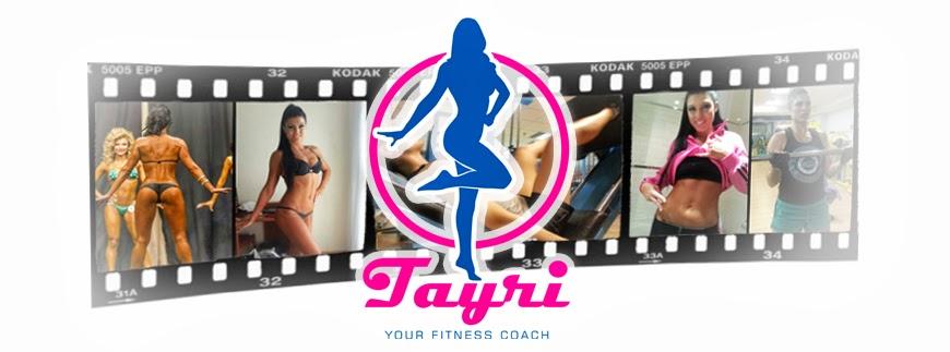 Tu asesora nutricional y deportiva Tayri Rodríguez