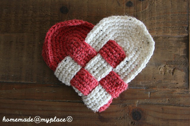Homemademyplace Crocheted Danish Hearts For A Friend