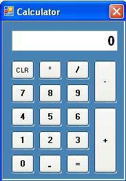 Simple Calculator in C#
