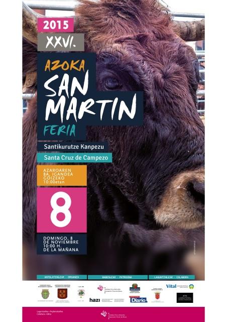 San Martin 2015 Kanpezu