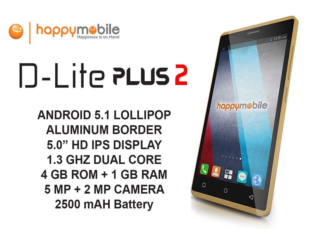 Happy Mobile D-Lite Plus 2