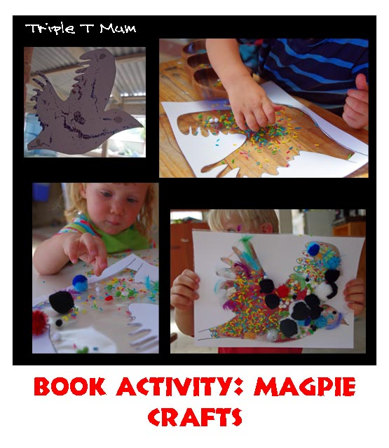 Book Activity: Magpie Crafts