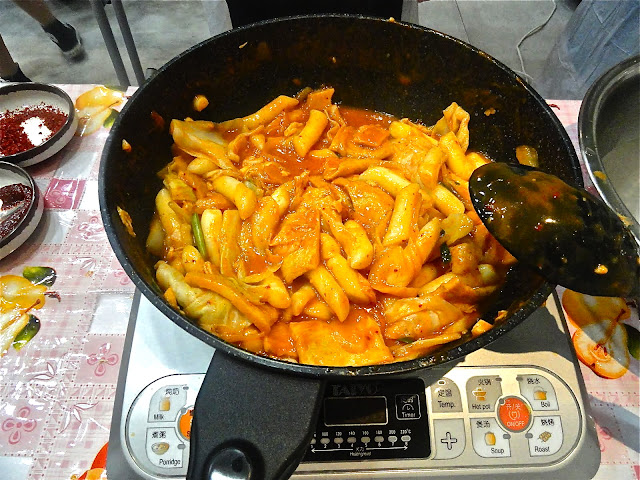 Tteokbokki Making