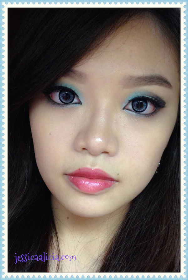 "IBB Makeup Challenge June 2014 ""Be Bold Be Smokey"" by Jessica Alicia"
