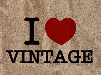 IK hou van Vintage