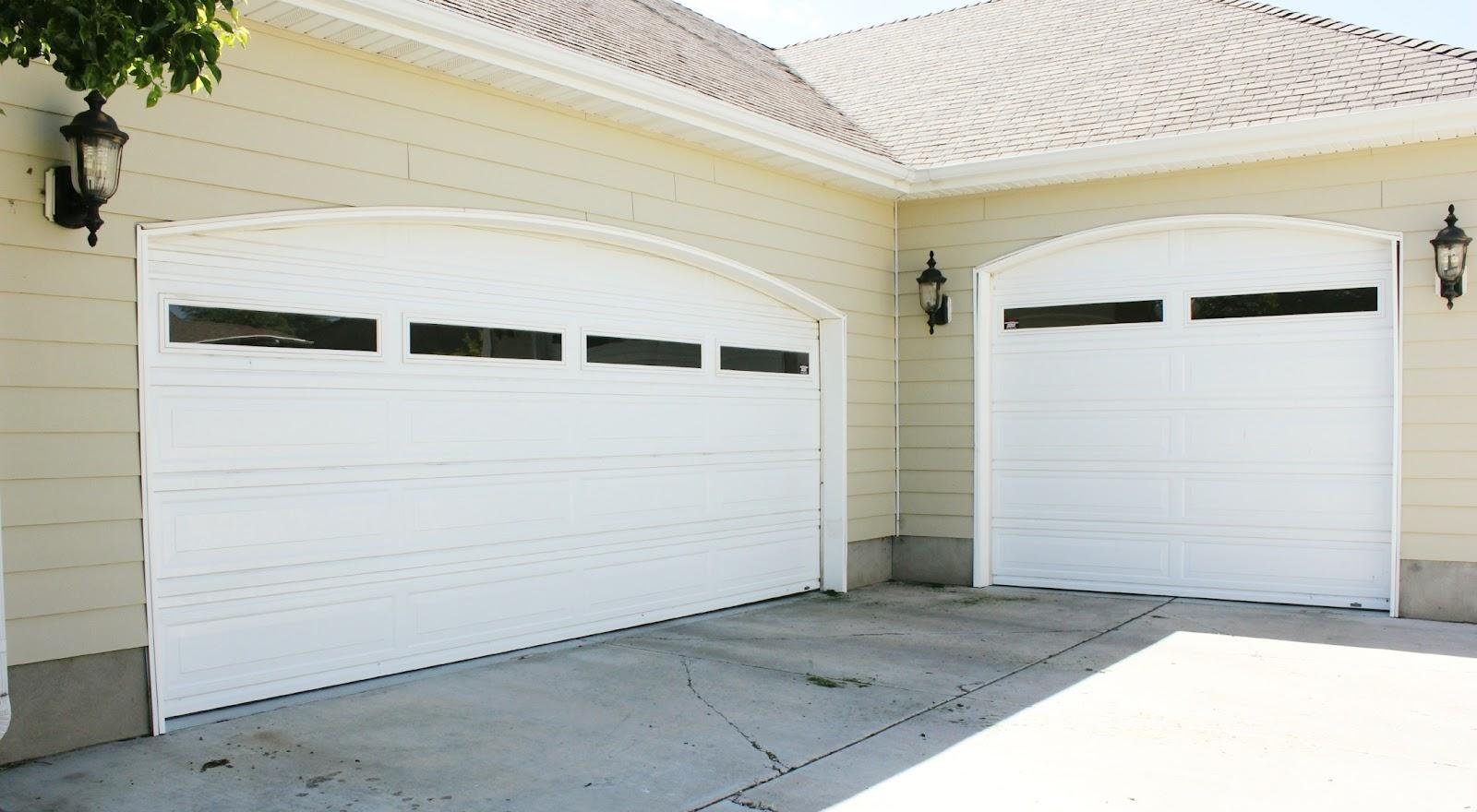 Plain garage door to carriage doors how to primp your garage