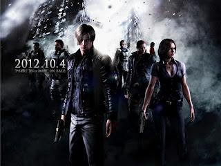 Resident Evil 6 - Japan release date poster