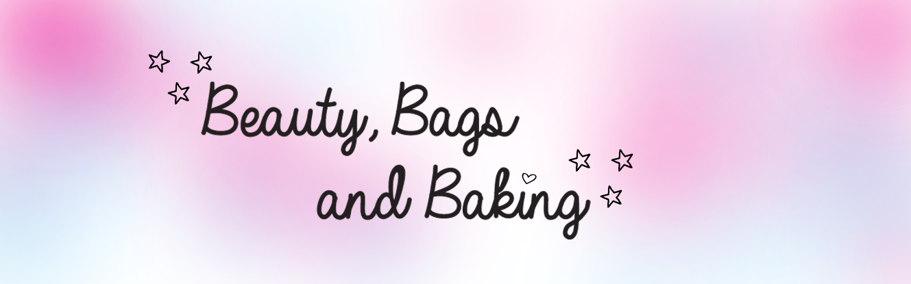 Beauty Bags and Baking