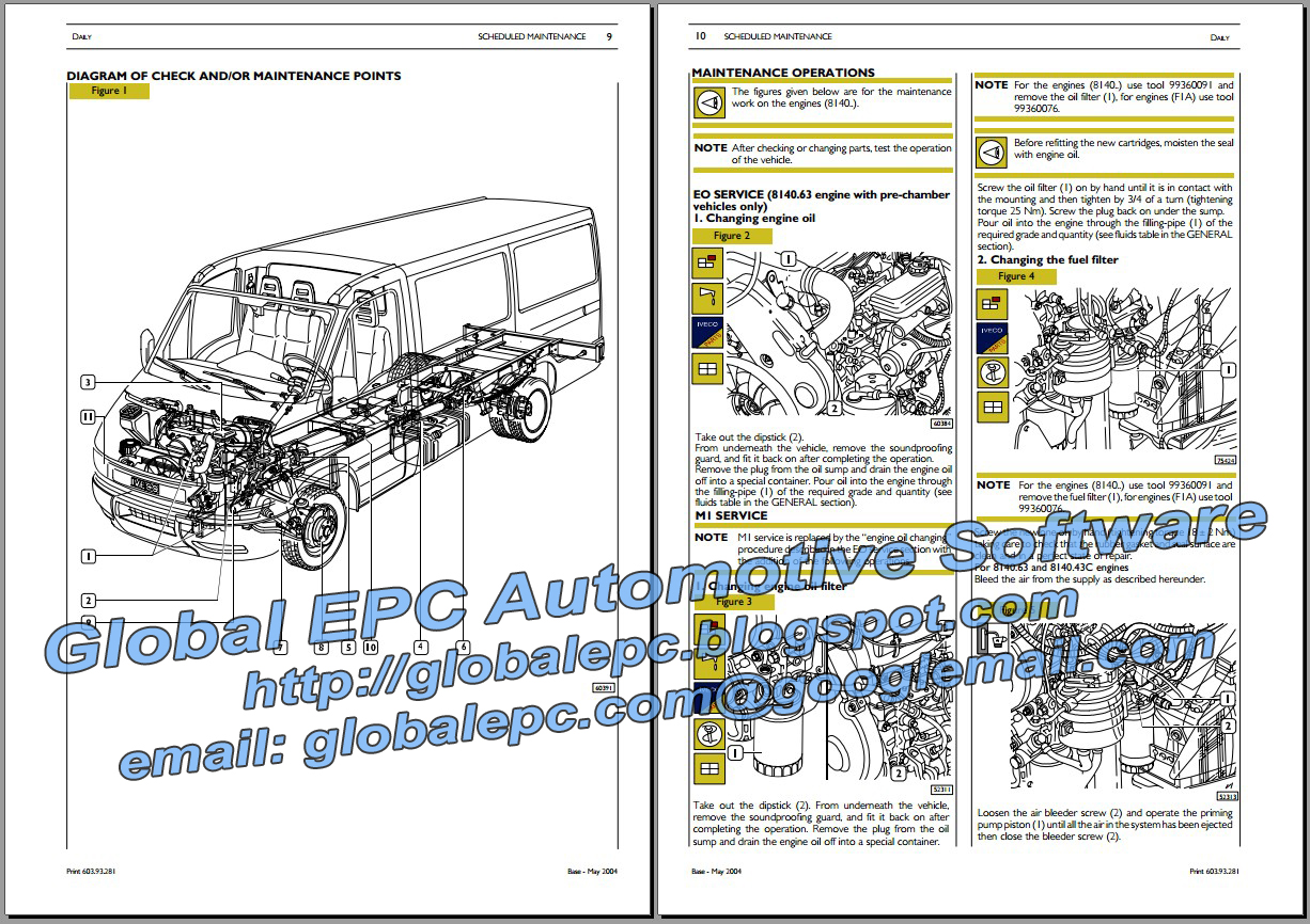 Iveco daily  repair manual wiring diagrams