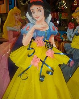 Piñatas Blanca Nieves, parte 1