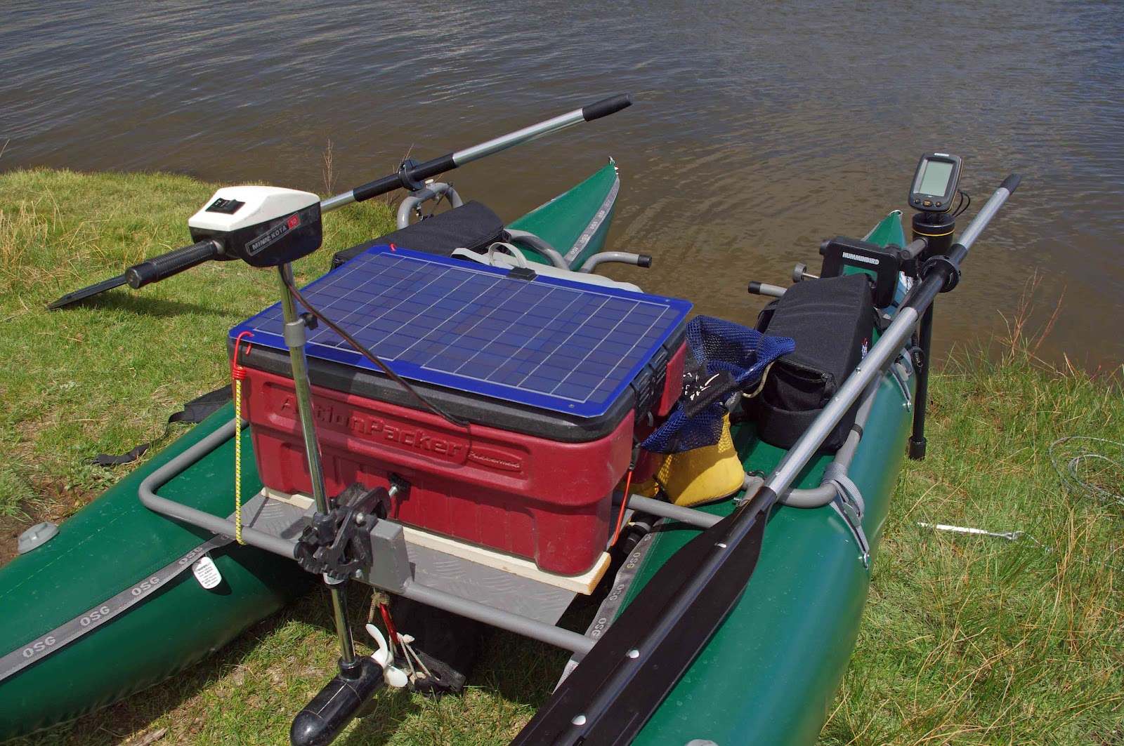 usbackroads solar powered fishing boat