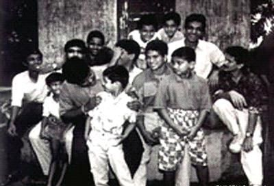 Childhood Picture of Sachin Tendulkar
