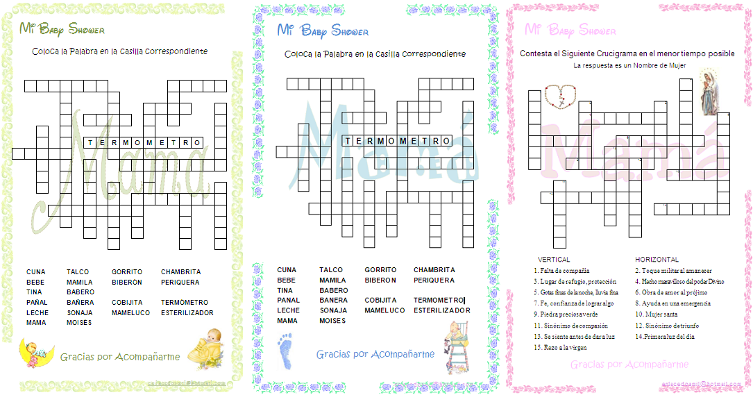 juegos imprimibles para baby shower juegos para baby shower gratis