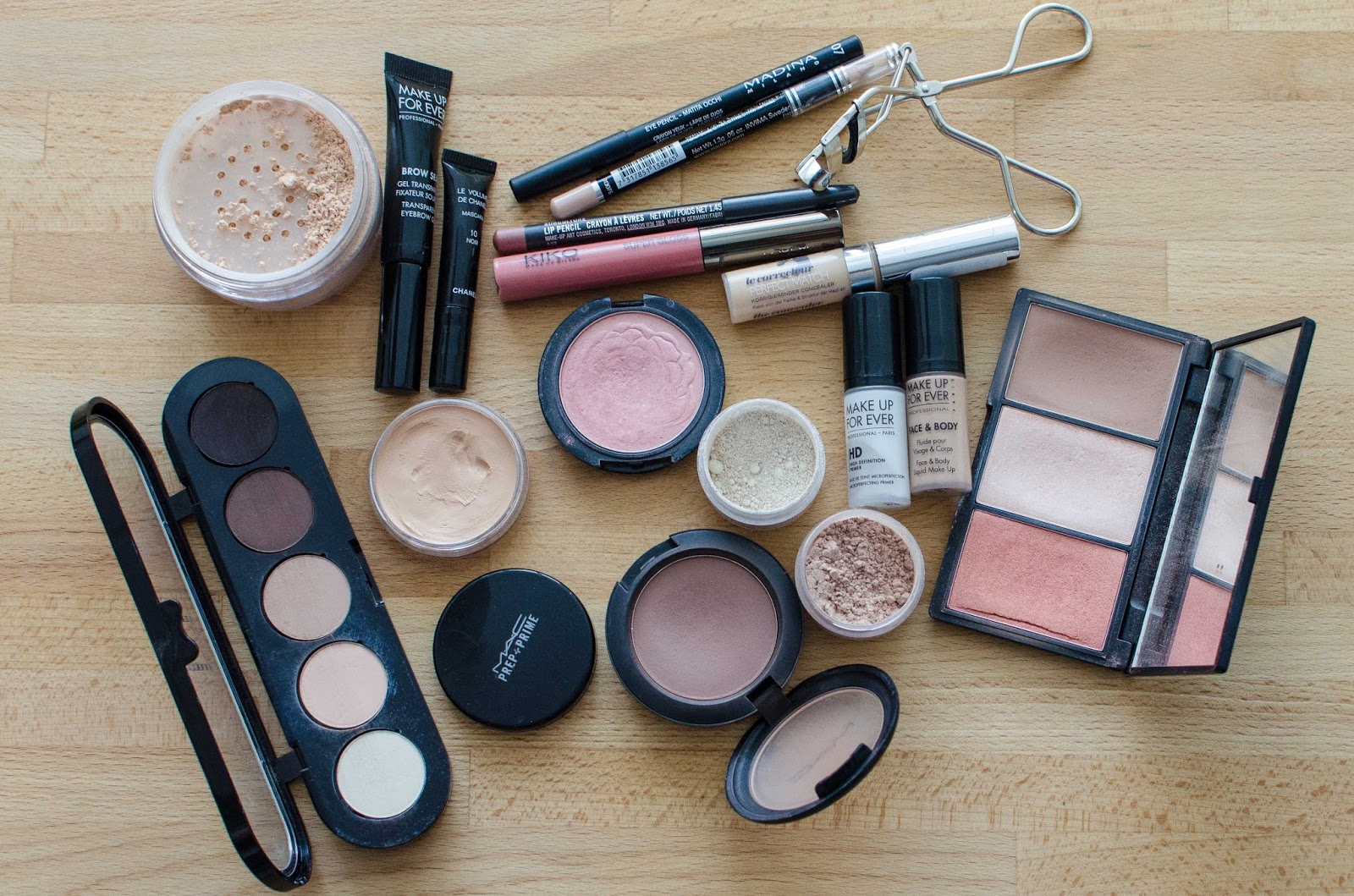 Что нужно из косметики для профессионального макияжа
