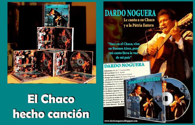 Dardo Noguera, Un CD con lo mejor del folklore