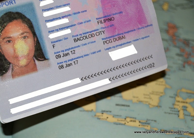 Philippine Passport photo damage