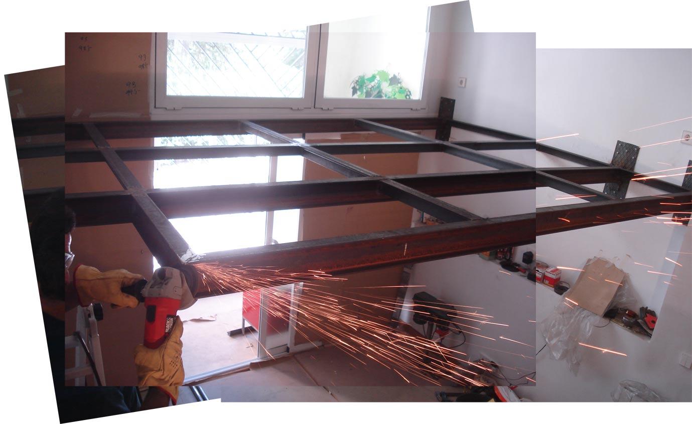 Supermanitas altillo sin obra de alba iler a - Estructuras de hierro para casas ...