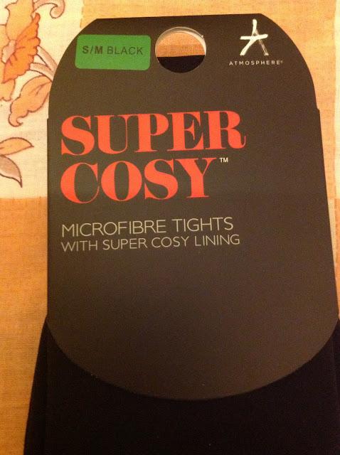 Super Cosy Microfibre Tights
