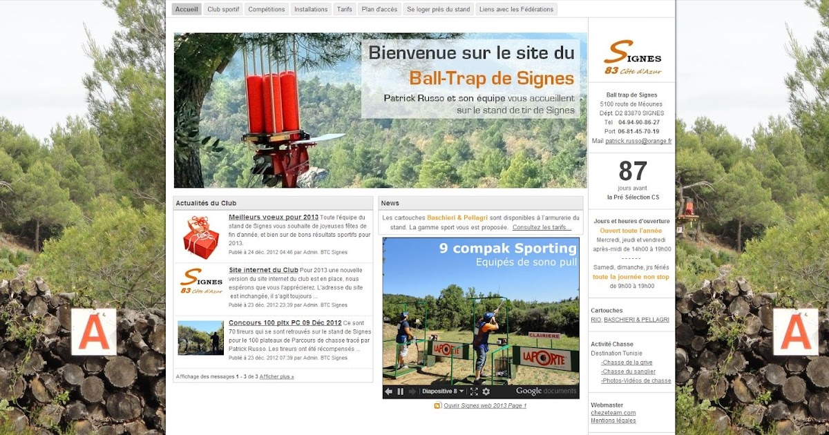 Ball trap de signes - Relooking trap ...