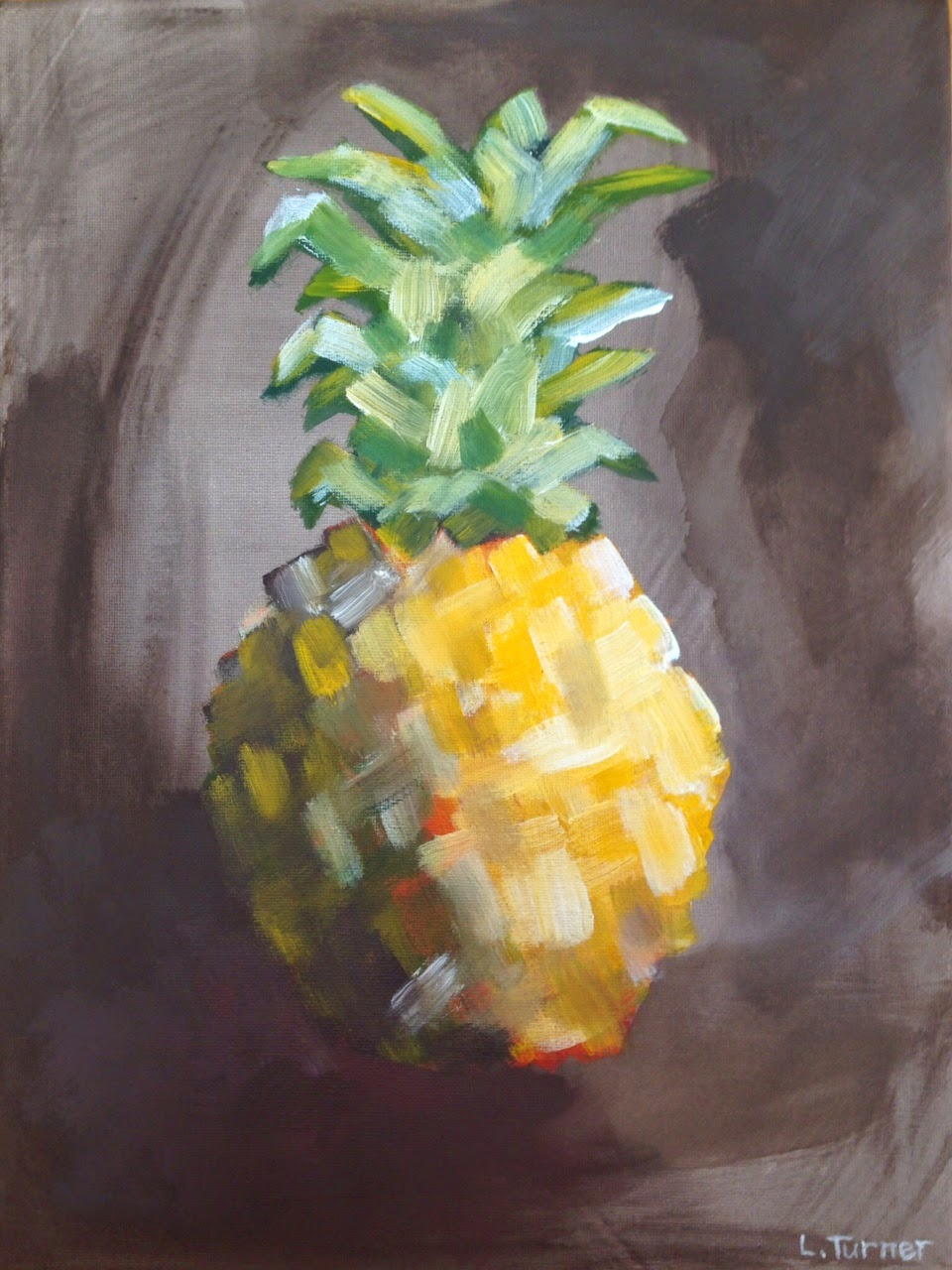 Original Pineapple Painting