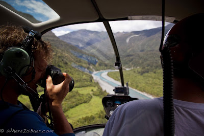 make the easy leg of the journey, heli kayaking, NZ, new zealand, Chris Baer