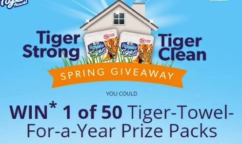 Royale Tiger Srong Tiger Clean Spring Giveaway