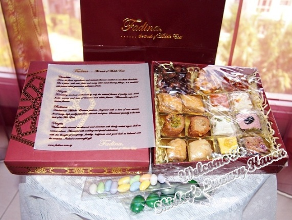 fadina chocolates baklawas nougats