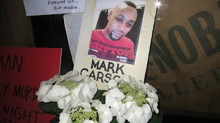 Mark Carson, the 32-year-old gay man shot and killed by a homophobe early Saturday morning in New York