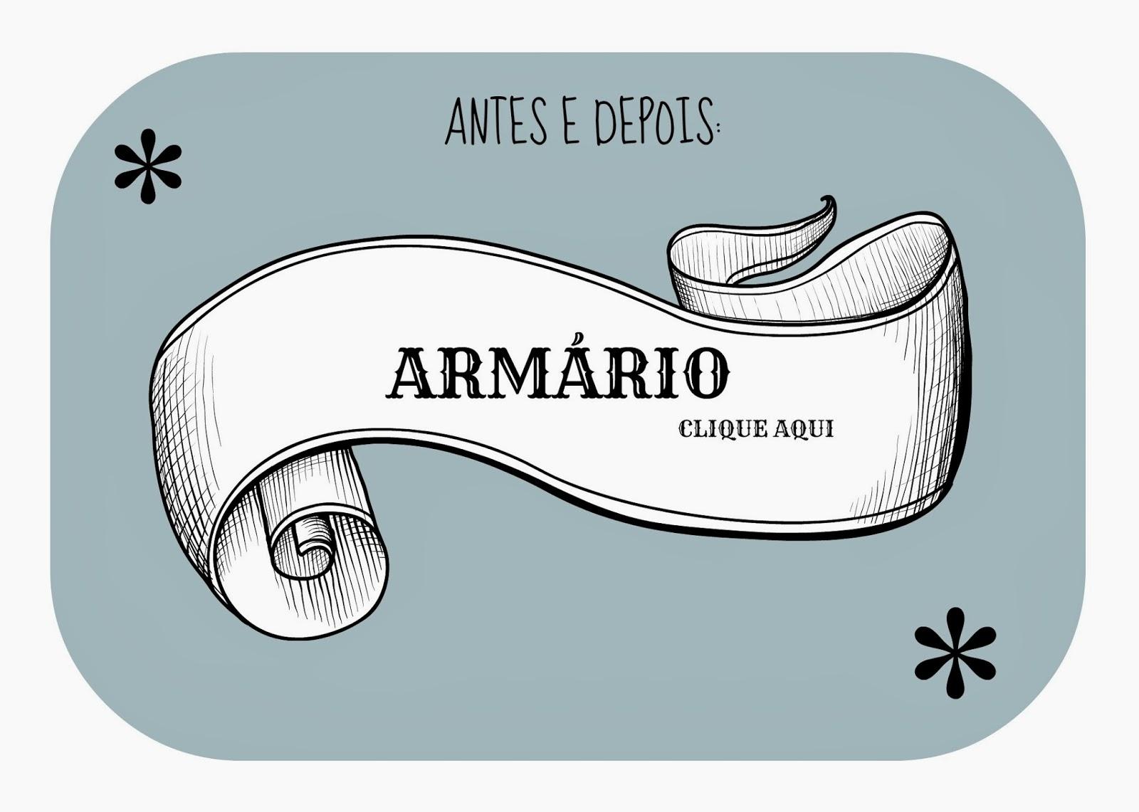 ARMÁRIO COM TECIDO DIY