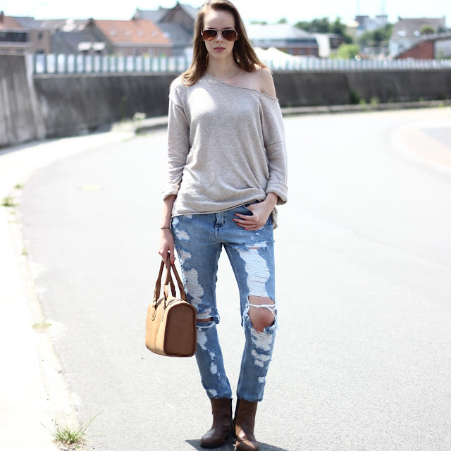 casual street style outfit