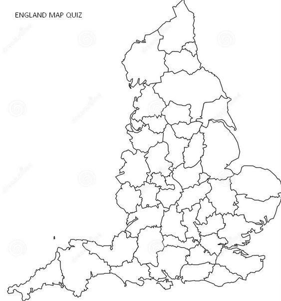 Printable Maps England Scotland and Wales Quiz – Printable Map of London England